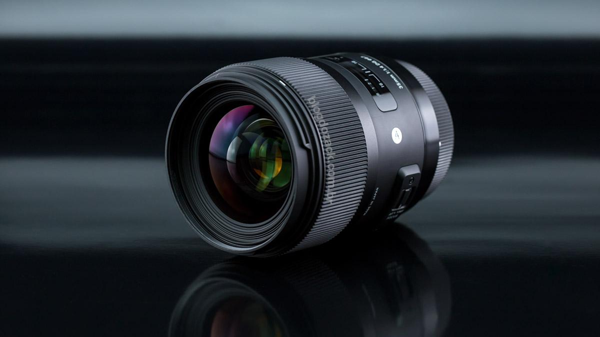 The Sigma 35mm f/1.4 DG HSM.