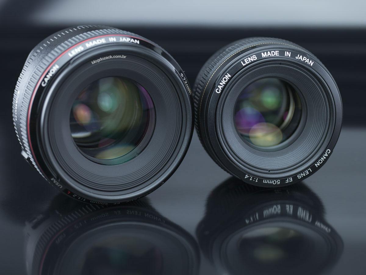 Canon EF 50mm f/1.4 USM f/1.2 L lens