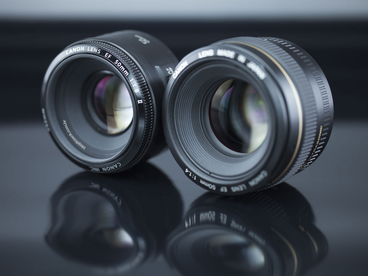 Canon EF 50mm f/1.4 f/1.8 Lens