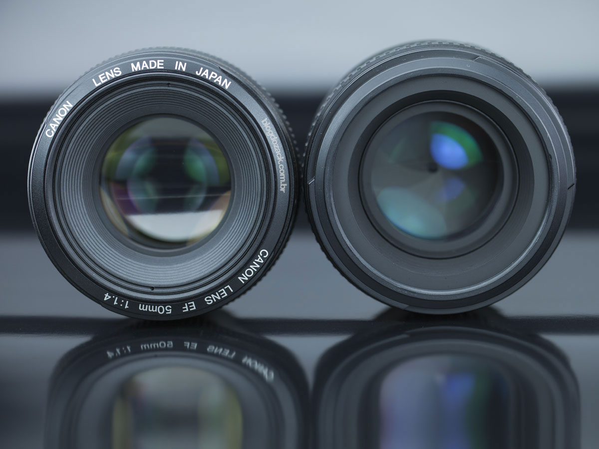 Canon EF 50mm f/1.4 USM Nikon AF-S f/1.4G