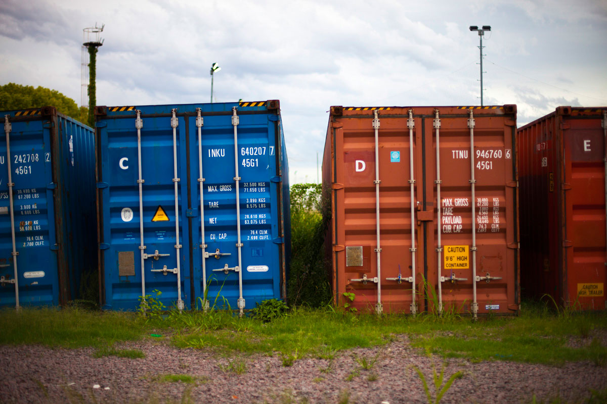 """Container"" com a Canon EOS 5D Mark II + EF 50mm f/1.4 USM em f/1.4 1/3200 ISO160."