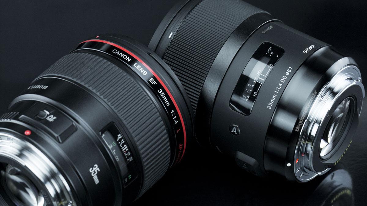 Canon EF 35mm f/1.4L USM Sigma DG HSM