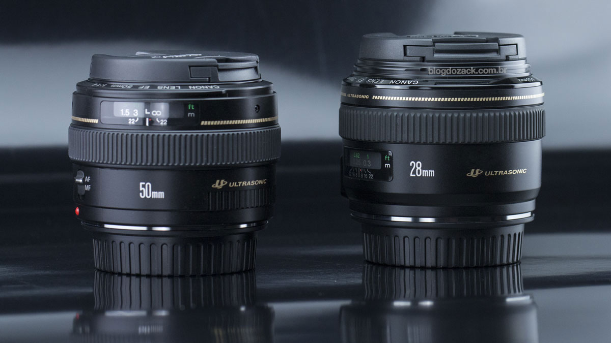 Canon EF 50mm f/1.4 USM 28mm f/1.8