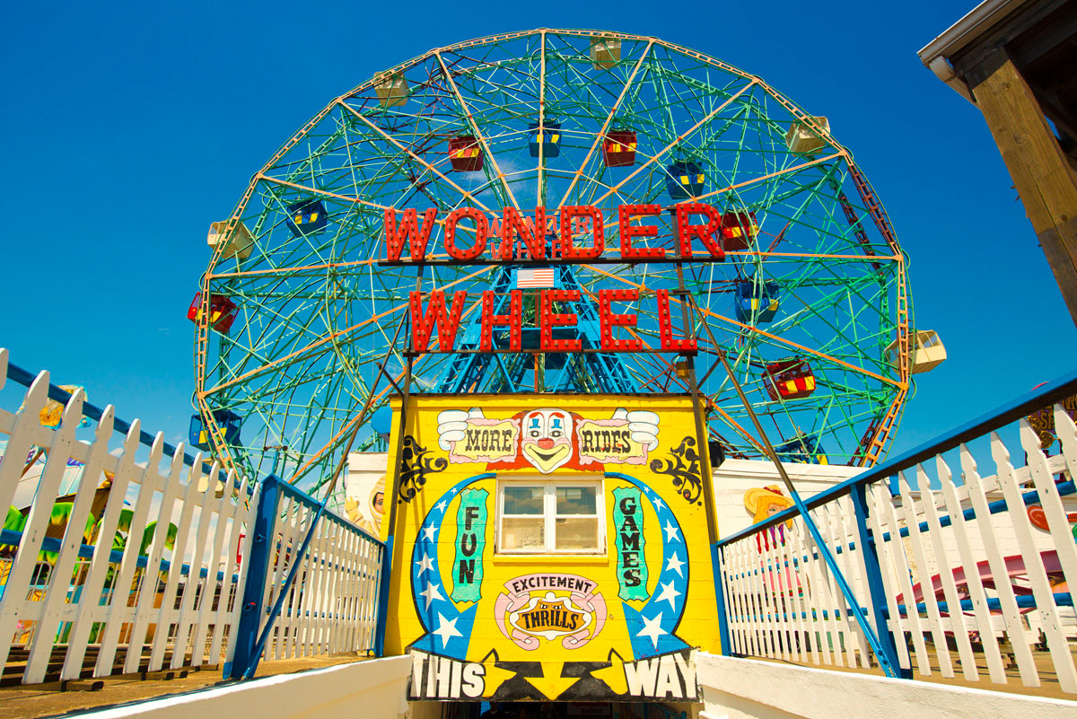 """Wonder Wheel"" com a D800E em f/6.7 1/1000 ISO100 @ 20mm."