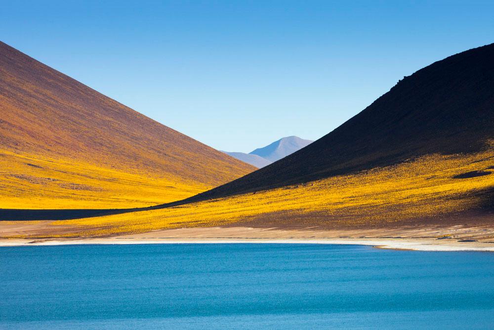 """""""Laguna"""" com a EOS 5DII + EF 200mm f/2L IS USM em f/10 1/125 ISO100. Composição geométrica com elementos da natureza."""