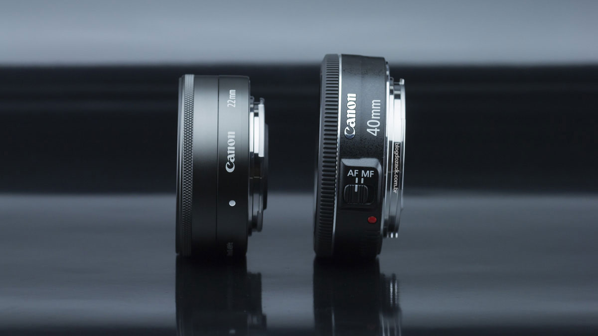 Canon EF 40mm f/2.8 STM E-M 22mm f/2
