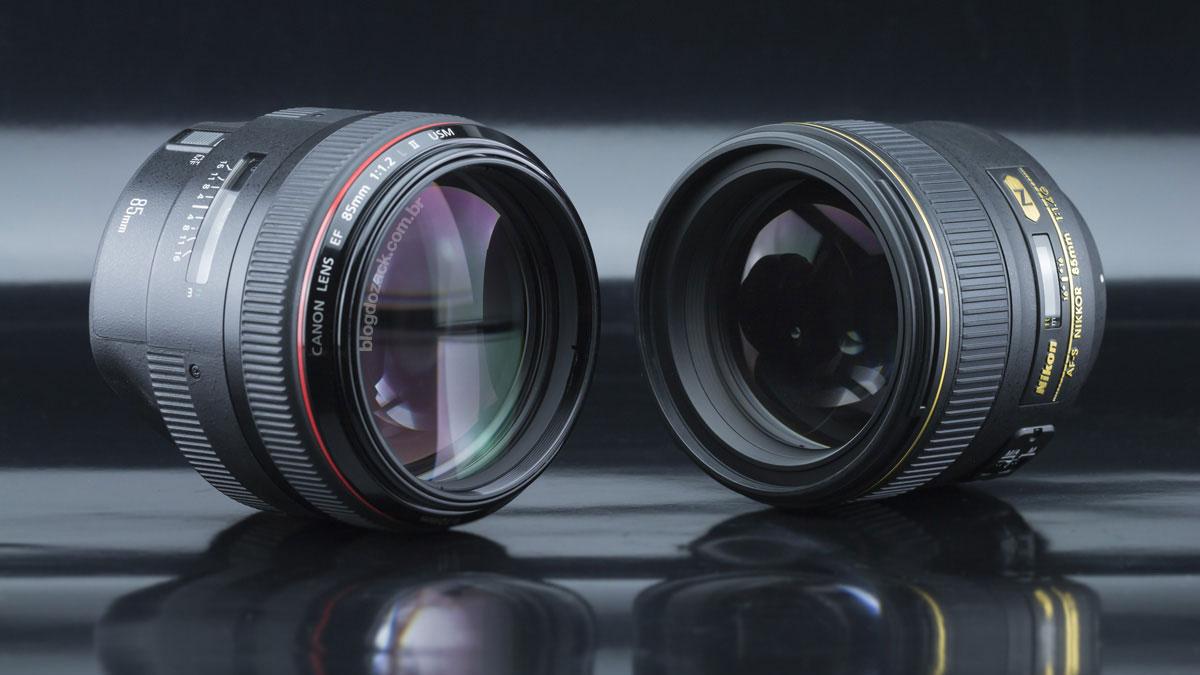Canon EF 85mm f/1.2L II USM Nikon AF-S Nikkor 85mm f/1.4G