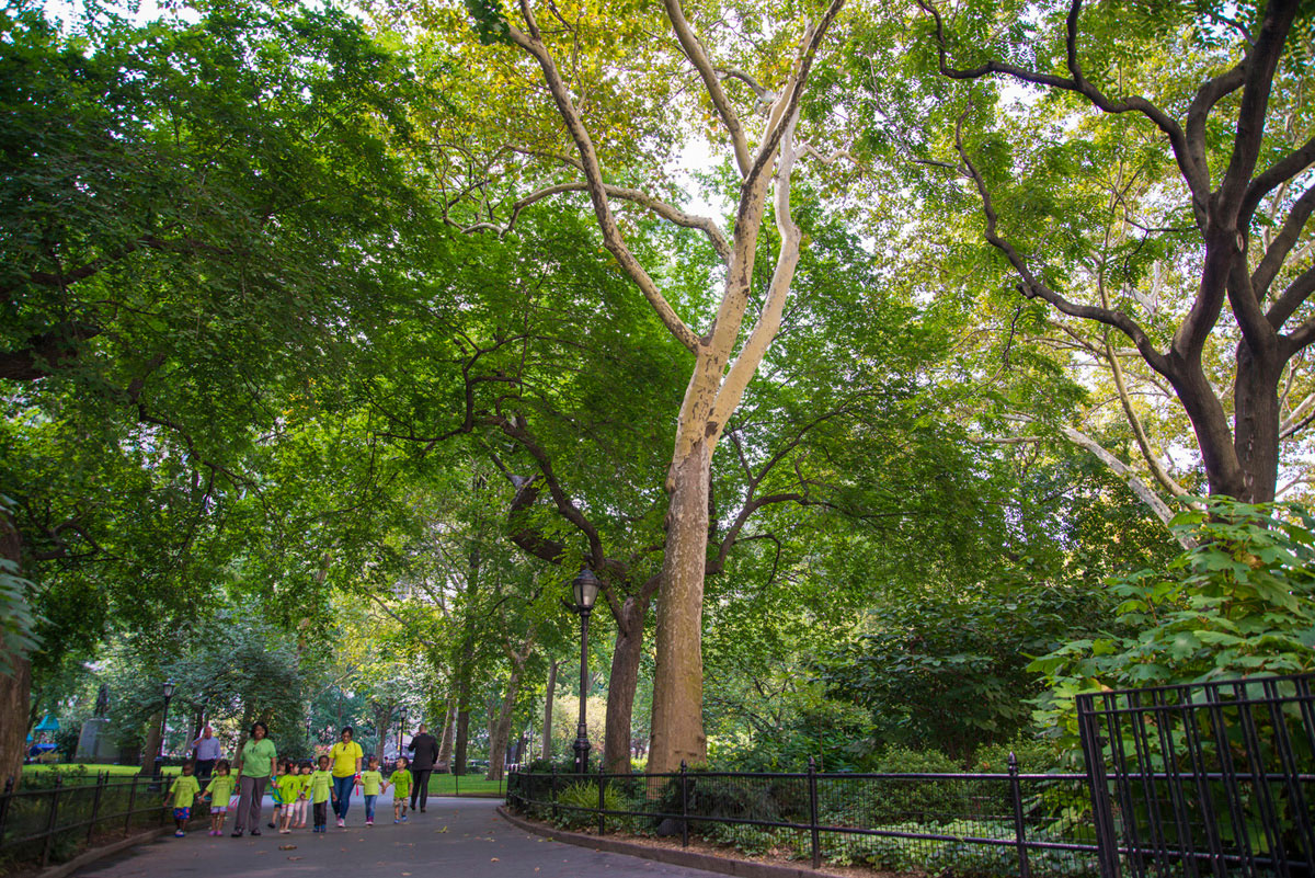"""Madison Square Park"" em f/4 1/60 ISO100 @ 24mm."