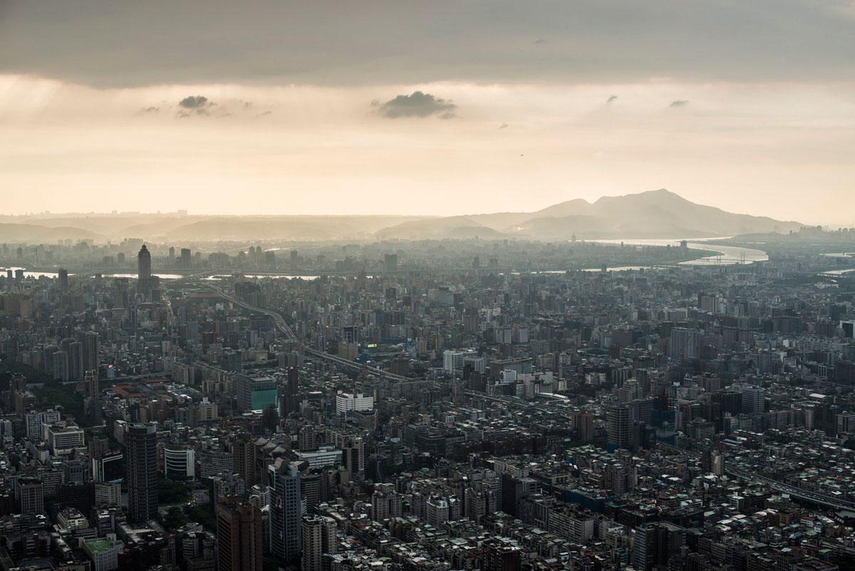 """""""Taipei"""" em f/5.6 1/400 ISO100; panorâmicas exigem grande profundidade de campo."""