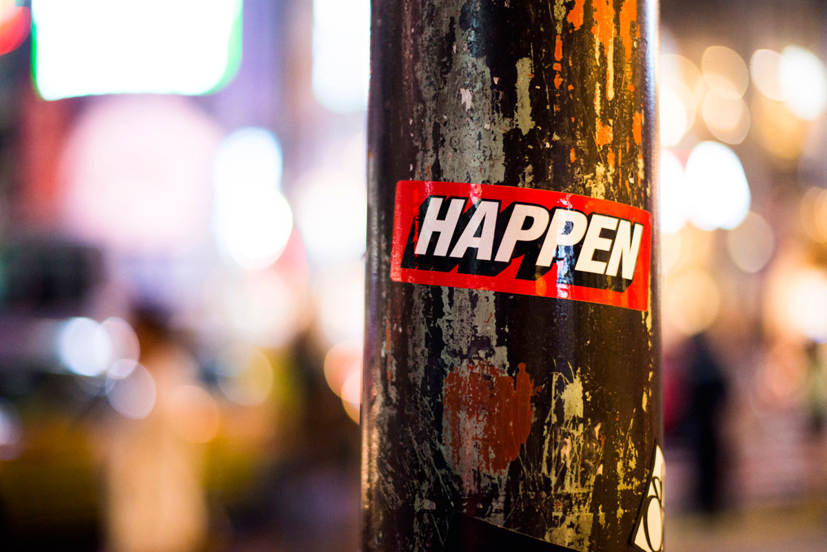 """Happen"" at f/1.4 1/400 ISO1600."