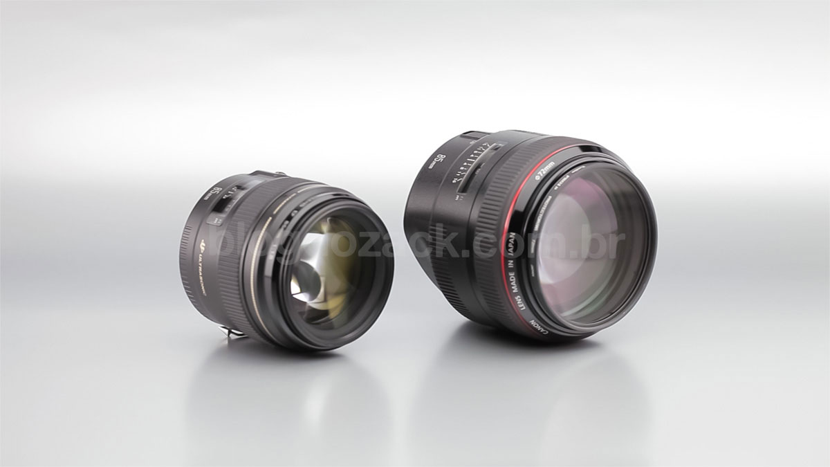 Canon EF 85mm f/1.8 USM f/1.2L