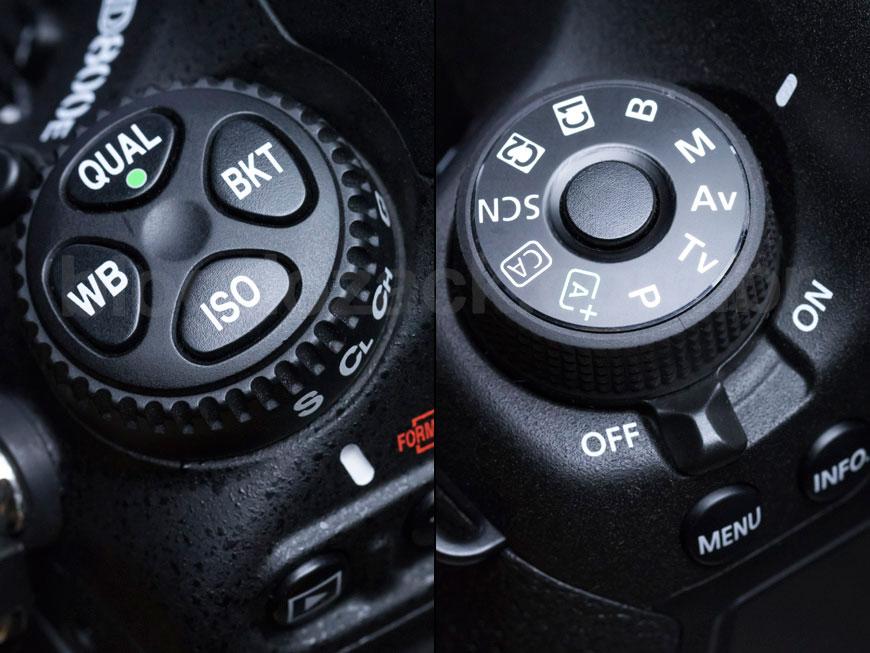 Nikon D800 EOS 6D