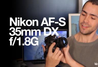 AF-S Nikkor 35mm f/1.8G DX