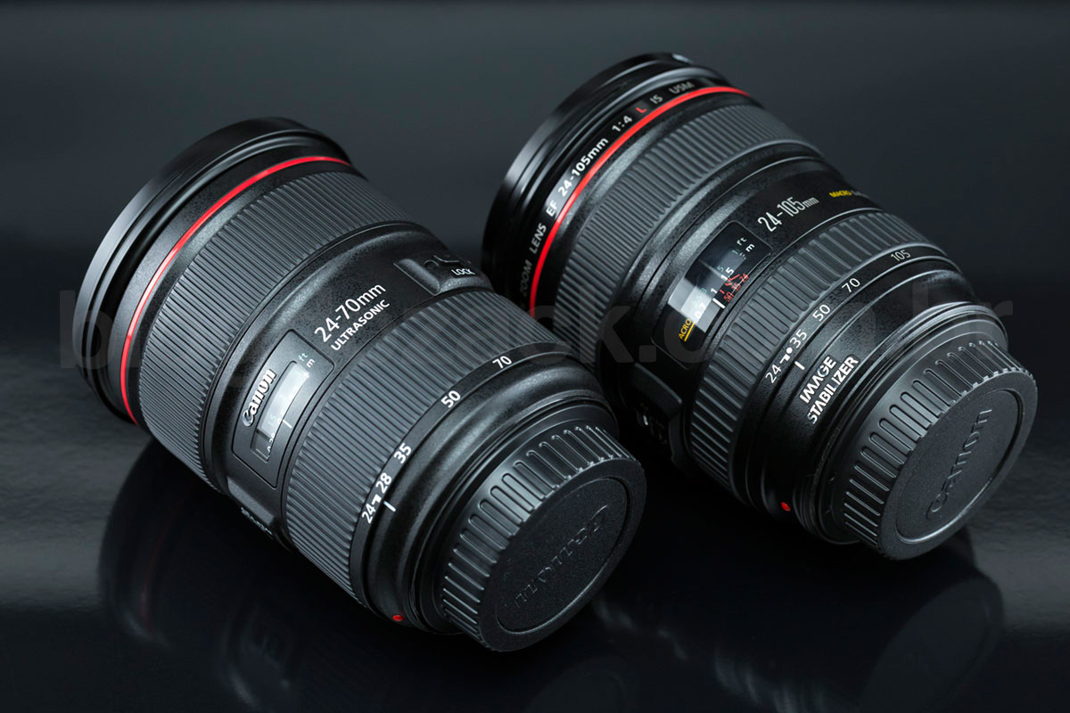 Canon EF 24-70mm f/2.8L II USM 24-105mm f/4 IS
