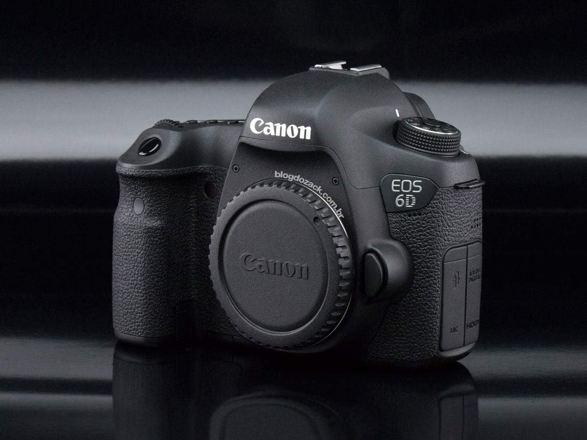 """Canon EOS 6D, a """"nova"""" (2012) full frame de entrada."""