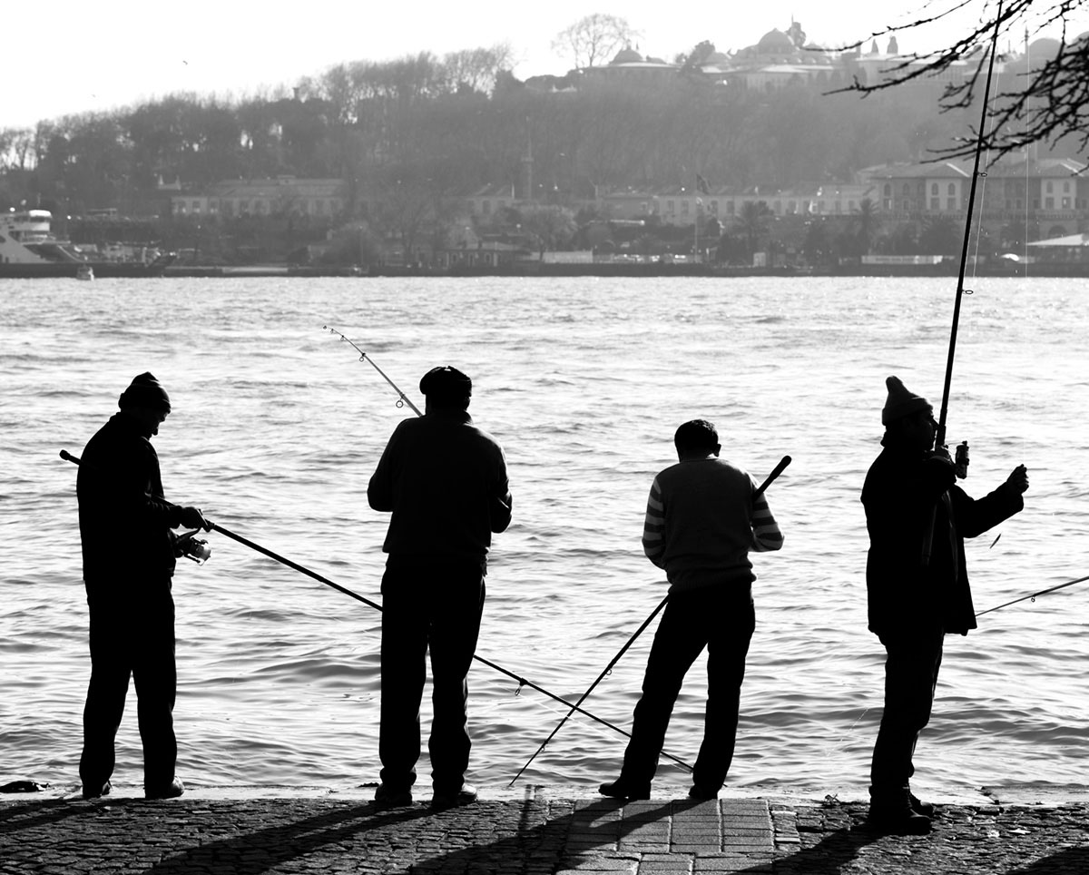 """""""Pescadores"""" em f/8 1/500 ISO50 @ 105mm"""
