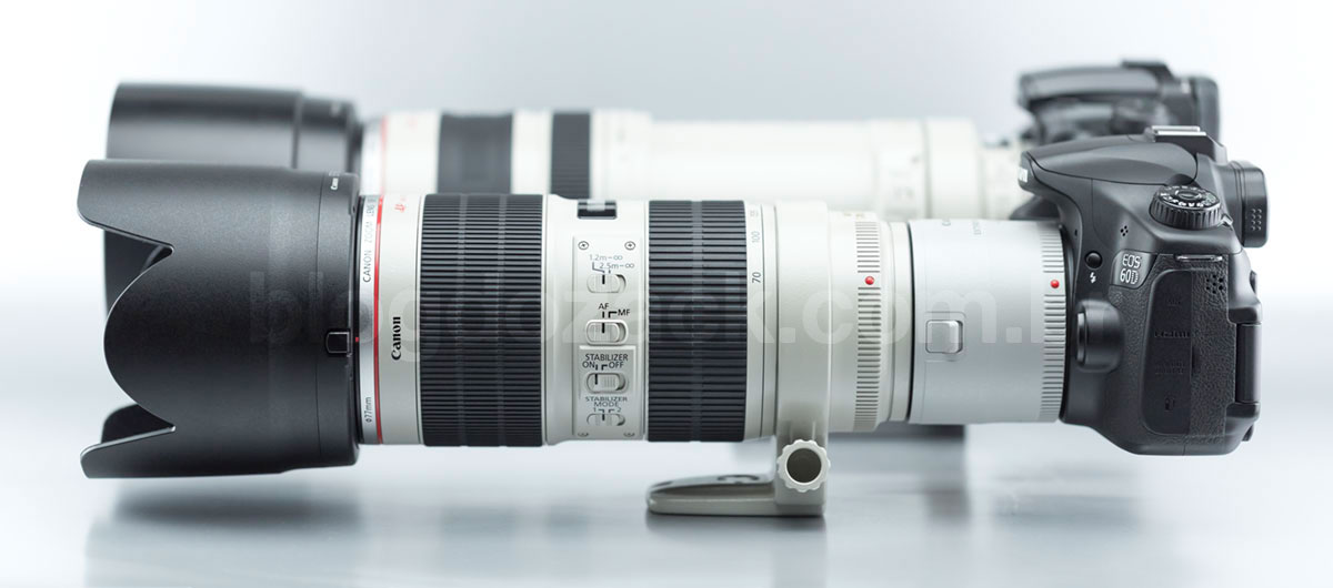 Canon EF 70-200mm f/2.8L IS II USM + EF Extender 2X III.