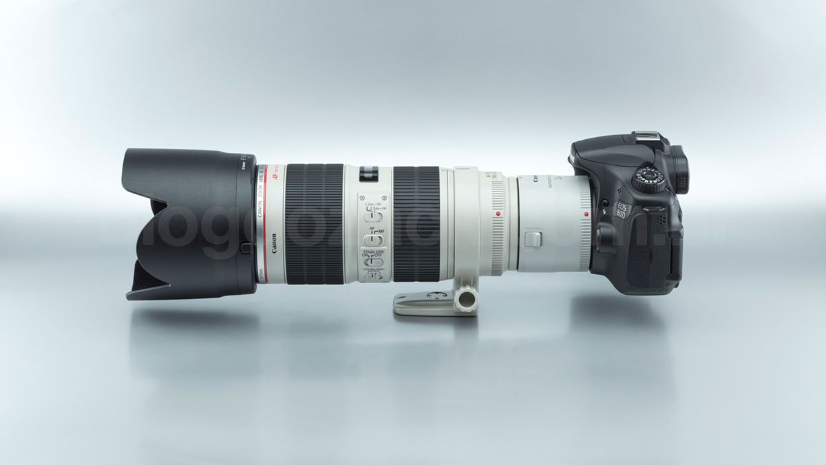 Canon EF 70-200mm f/2.8L II IS USM + Extender 2X III