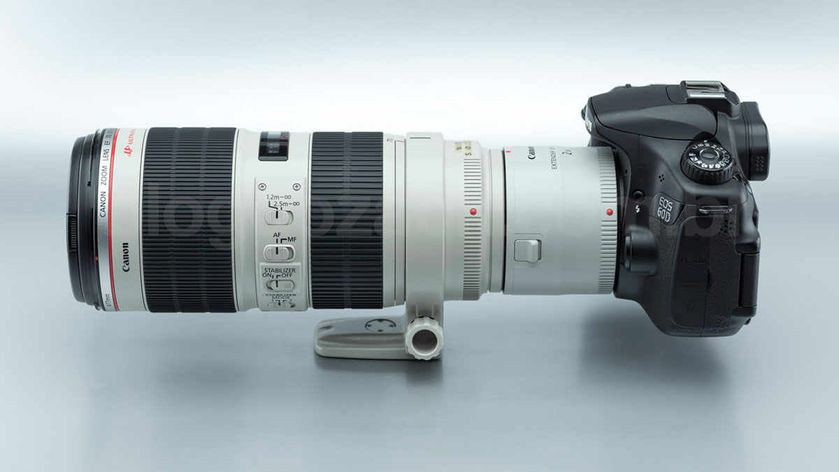 Canon EF Extender 2X III 70-200mm f/2.8L II IS USM EOS 60D