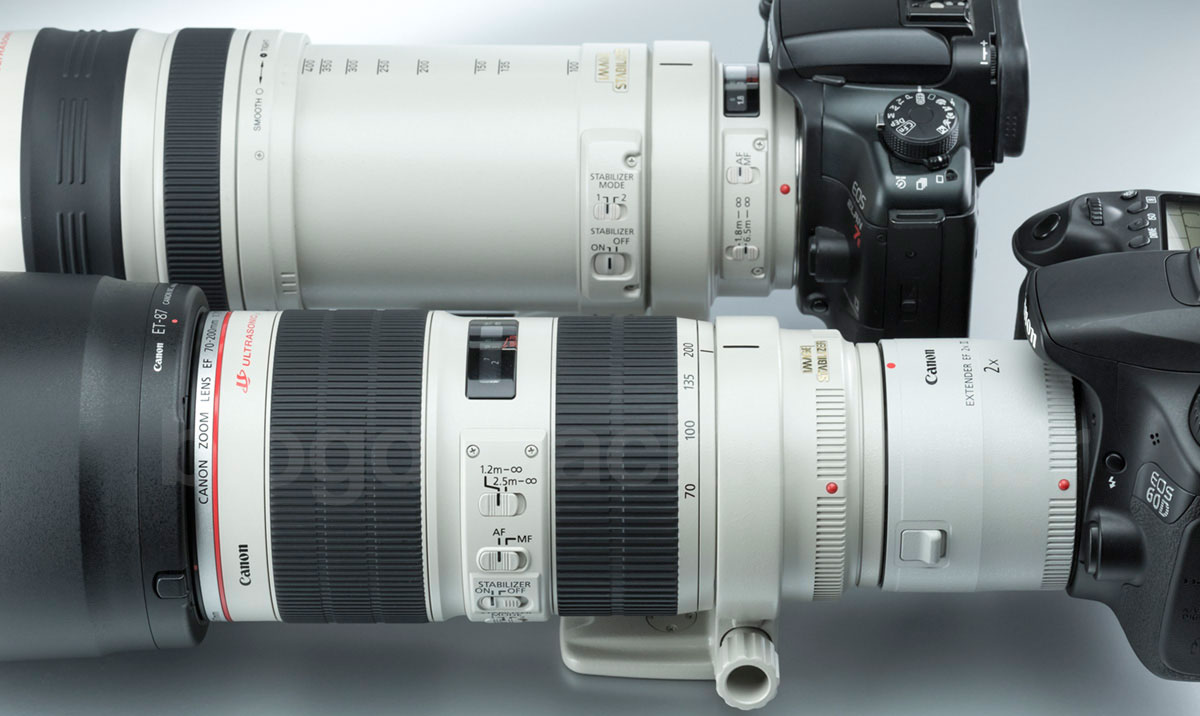 Canon EF Extender 2X III 70-200mm f/2.8L IS USM 100-400mm f/4.5-5.6L