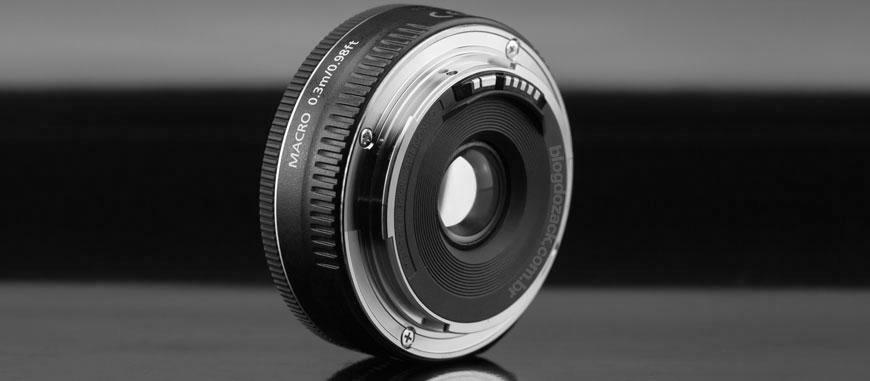 O mount Canon EF.