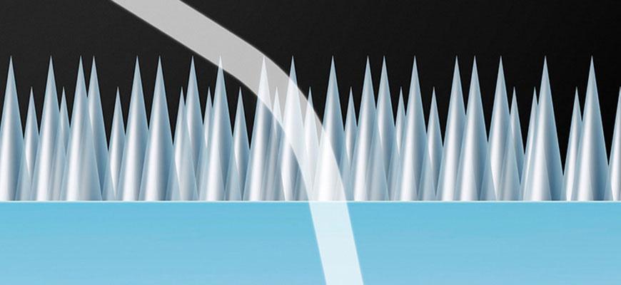 Canon SWC: estrutura do tratamento impede o reflexo da luz, eliminando fantasmas. [Créditos: Canon Europe]