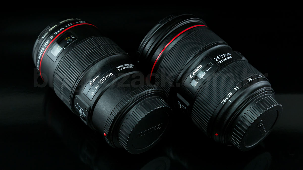 Canon EF 100mm f/2.8L IS USM Macro 24-70mm