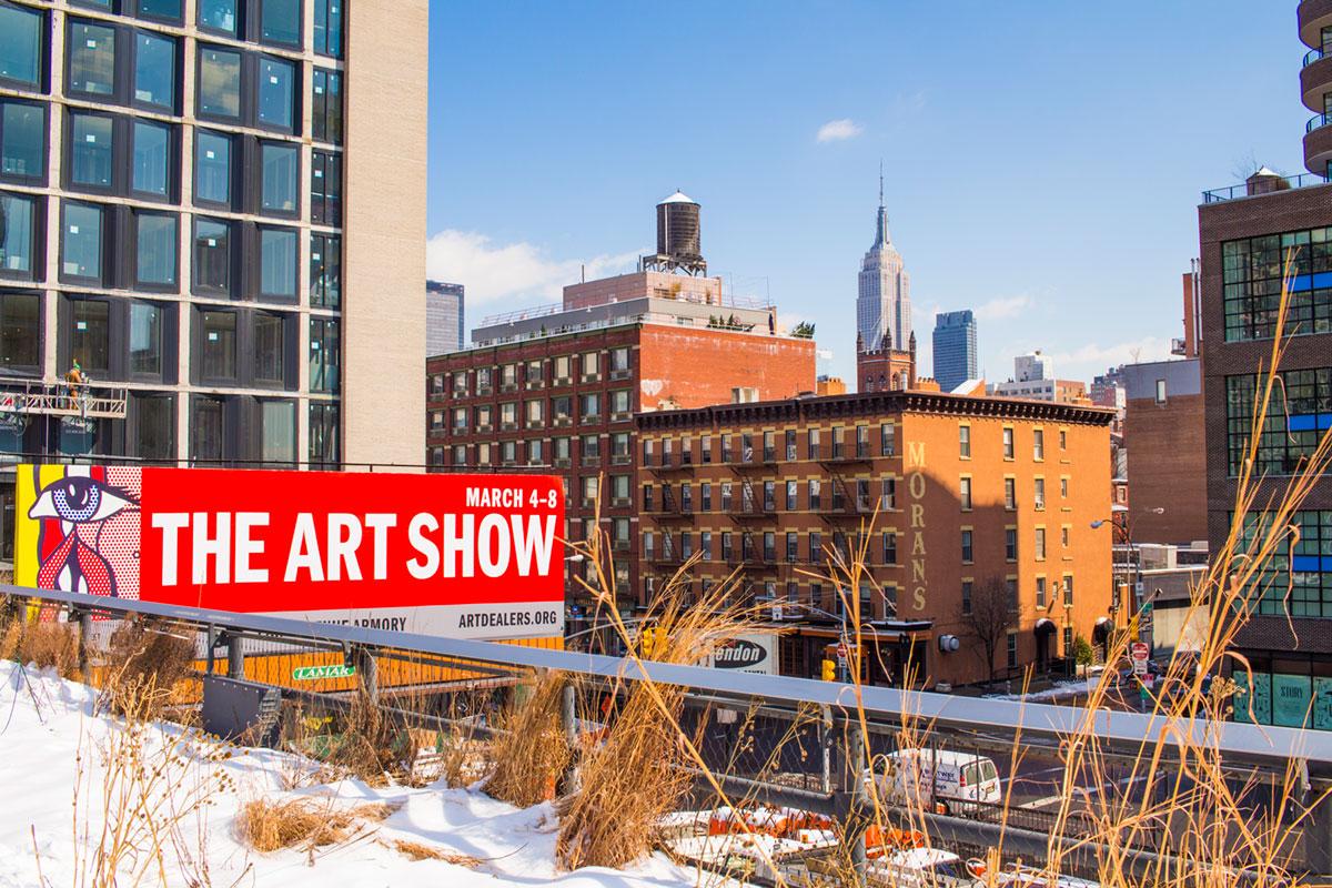 """The Art Show"" em f/8 1/350 ISO100."