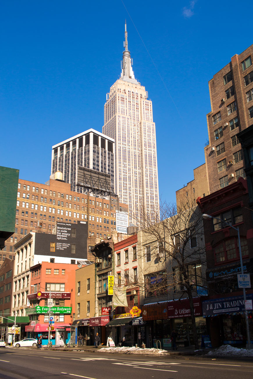"""Empire State Building"" em f/6.7 1/500 ISO100."