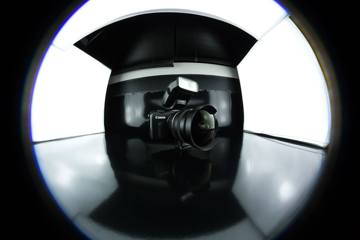 """Fisheye"" com a EOS 6D em 1/60 ISO640; look circular 180º no full frame."