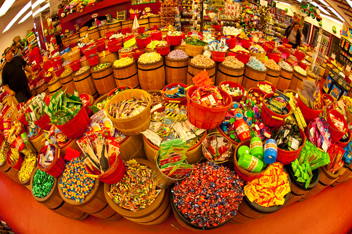 """""""Candyland 2"""" with the 5D Mark II at f/6.3 1/30 ISO160."""