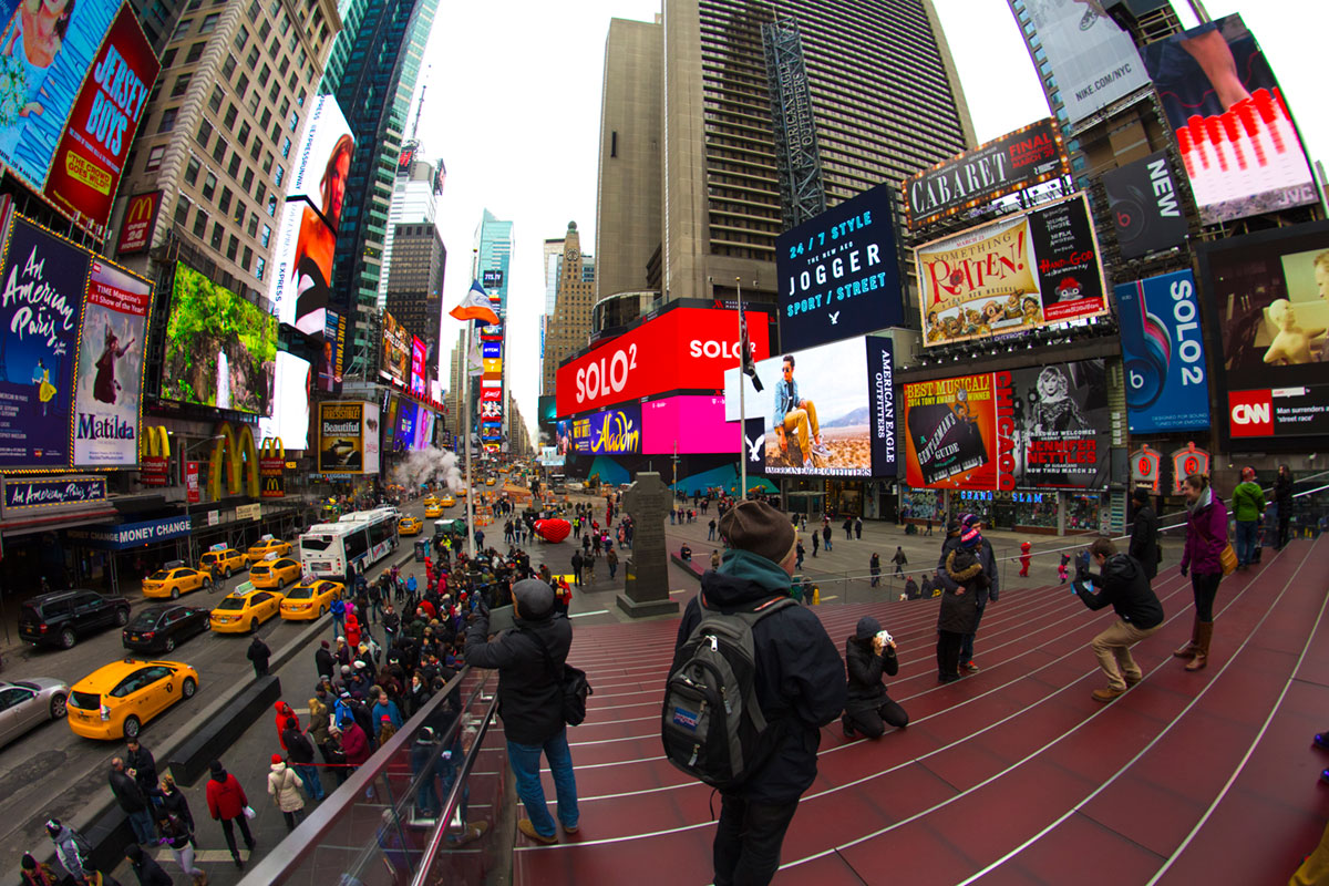 """Times Square 2"" at 1/180 ISO100."