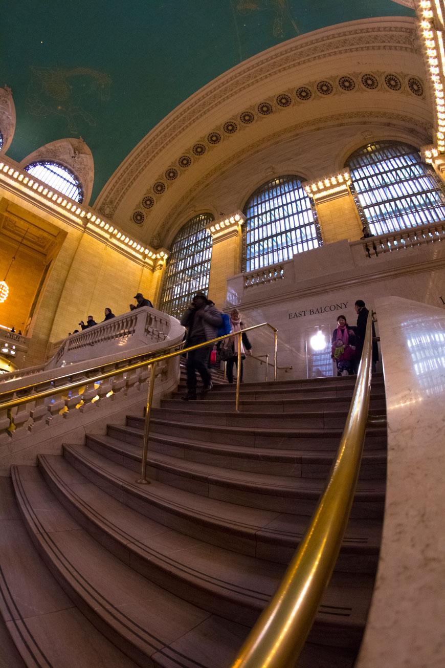 """Grand Central 2"" em 1/15 ISO1600."