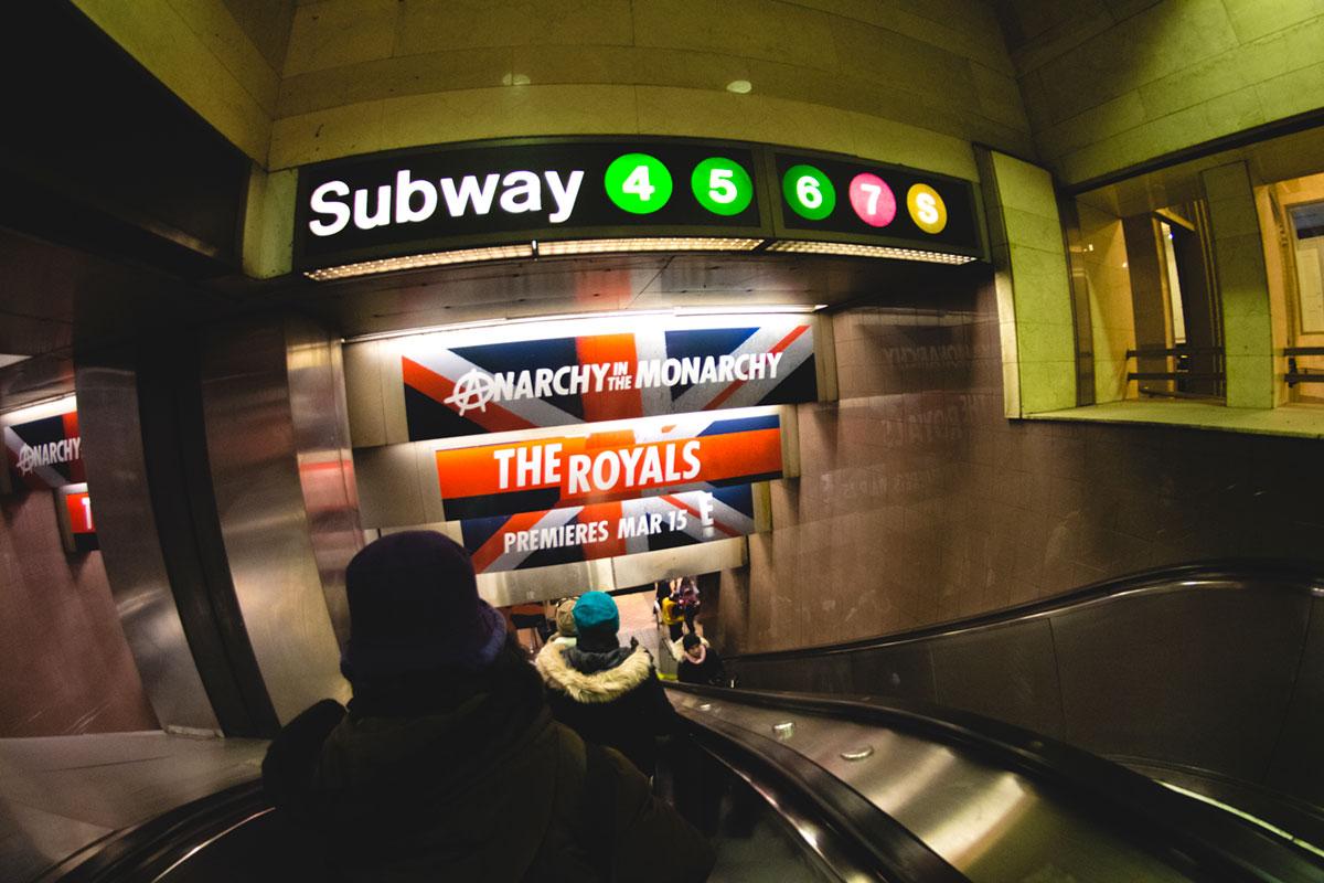 """""""Subway 2"""" em 1/60 ISO1600."""