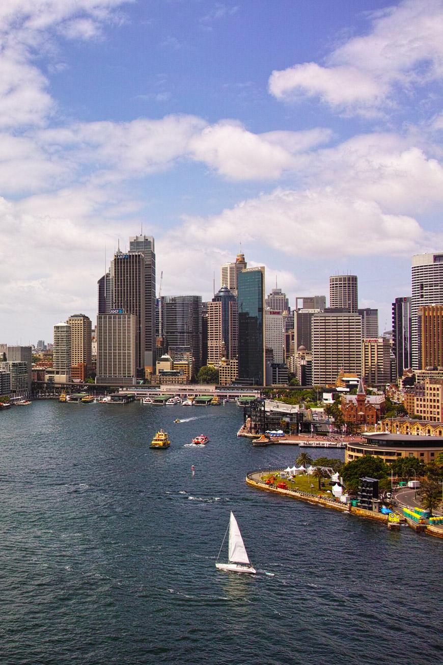 """""""Darling Harbour"""" com a DP1M em f/8 1/400 ISO100."""