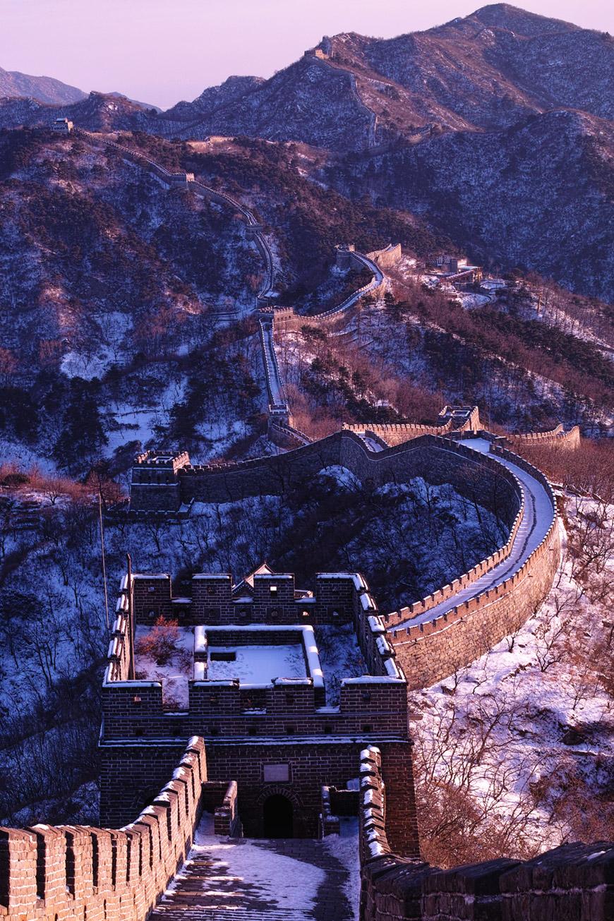 """""""Muralha da China"""" com DP2M em f/8 1/80 ISO100."""