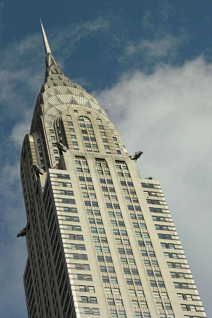 """""""Chrysler Building"""" com a DP3M em f/6.3 1/2000 ISO200."""