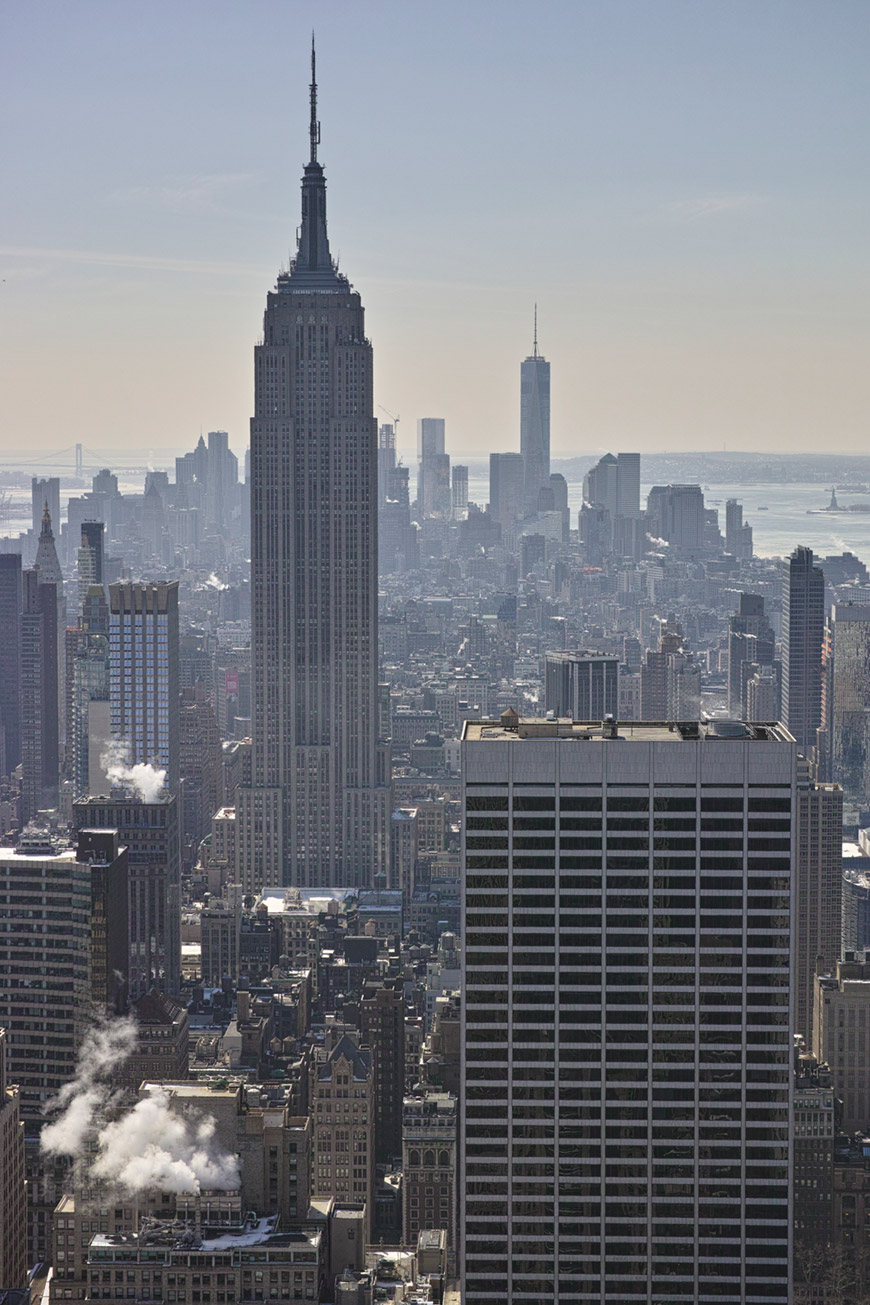 """Empire State Building"" com a DP3M em f/8 1/200 ISO100."