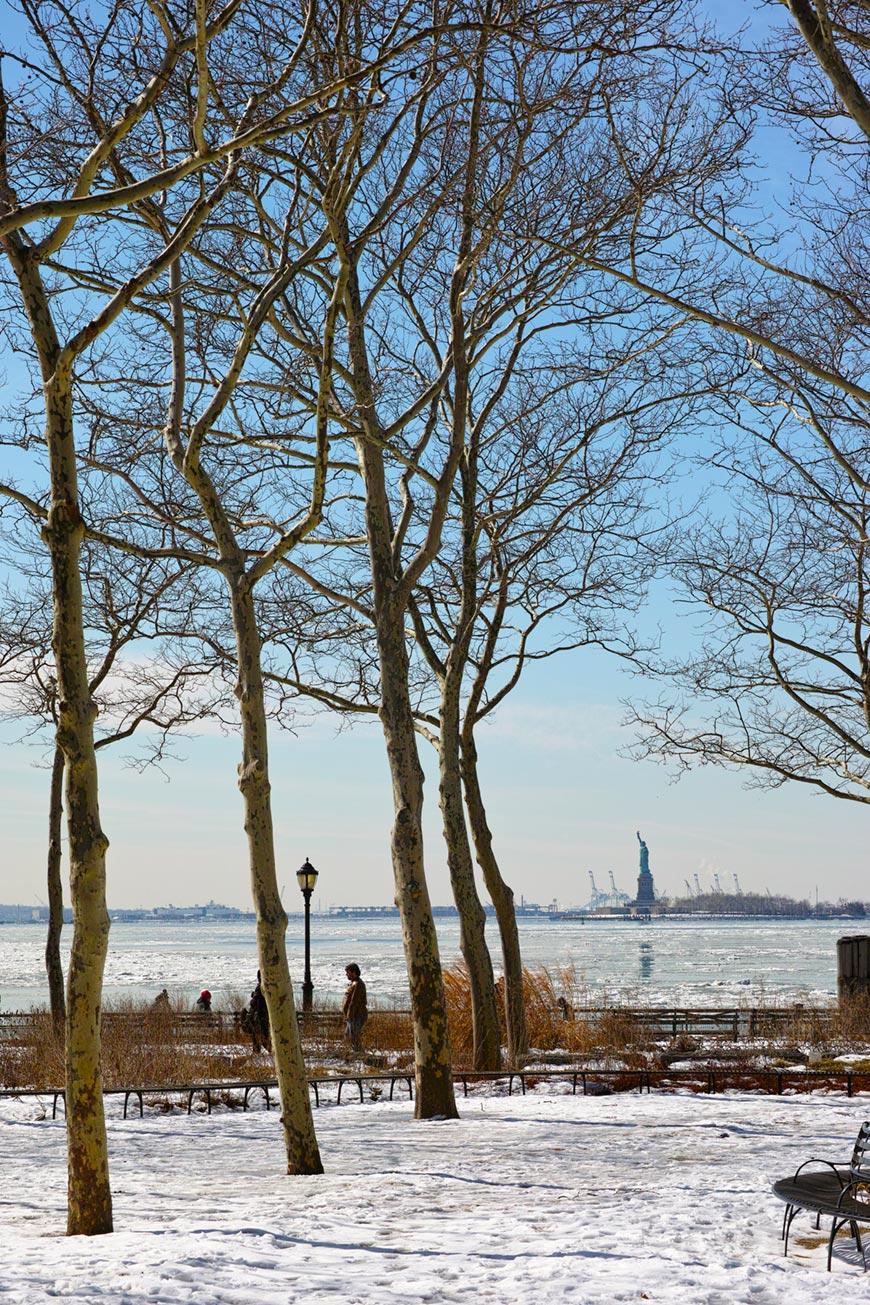 """""""Battery Park"""" com a DP3M em f/7.1 1/800 ISO100."""