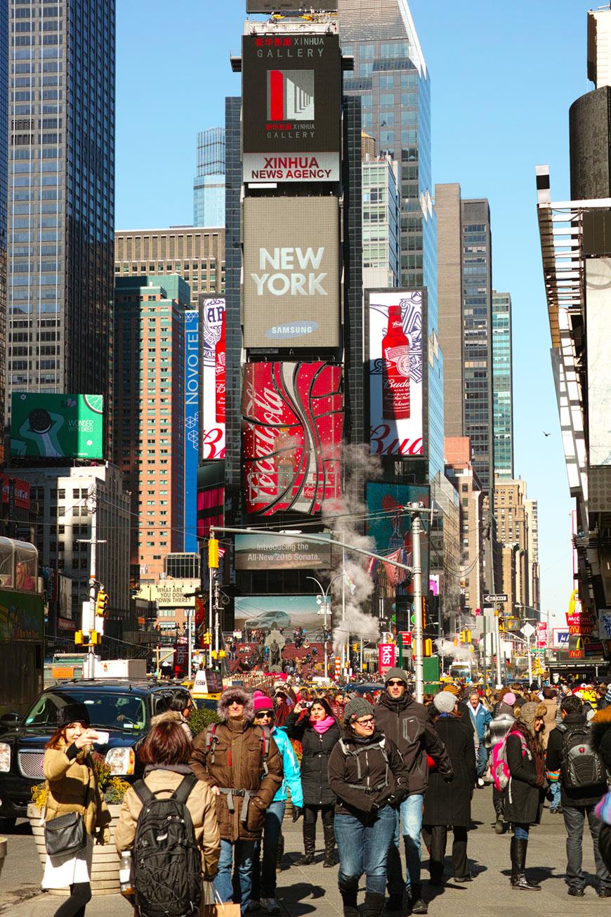 """""""Times Square"""" com a DP3M em f/7.1 1/320 ISO100."""