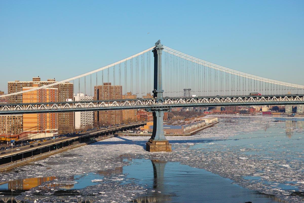 """""""Manhattan Bridge"""" com a DP3M em f/8 1/500 ISO100."""