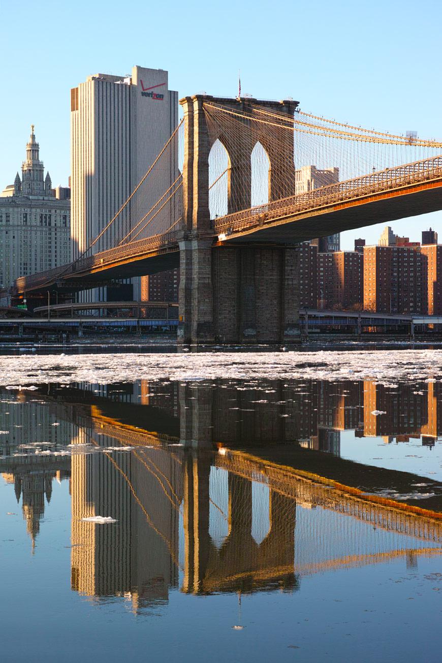 """""""Brooklyn Bridge"""" com a DP3M em f/7.1 1/160 ISO100."""