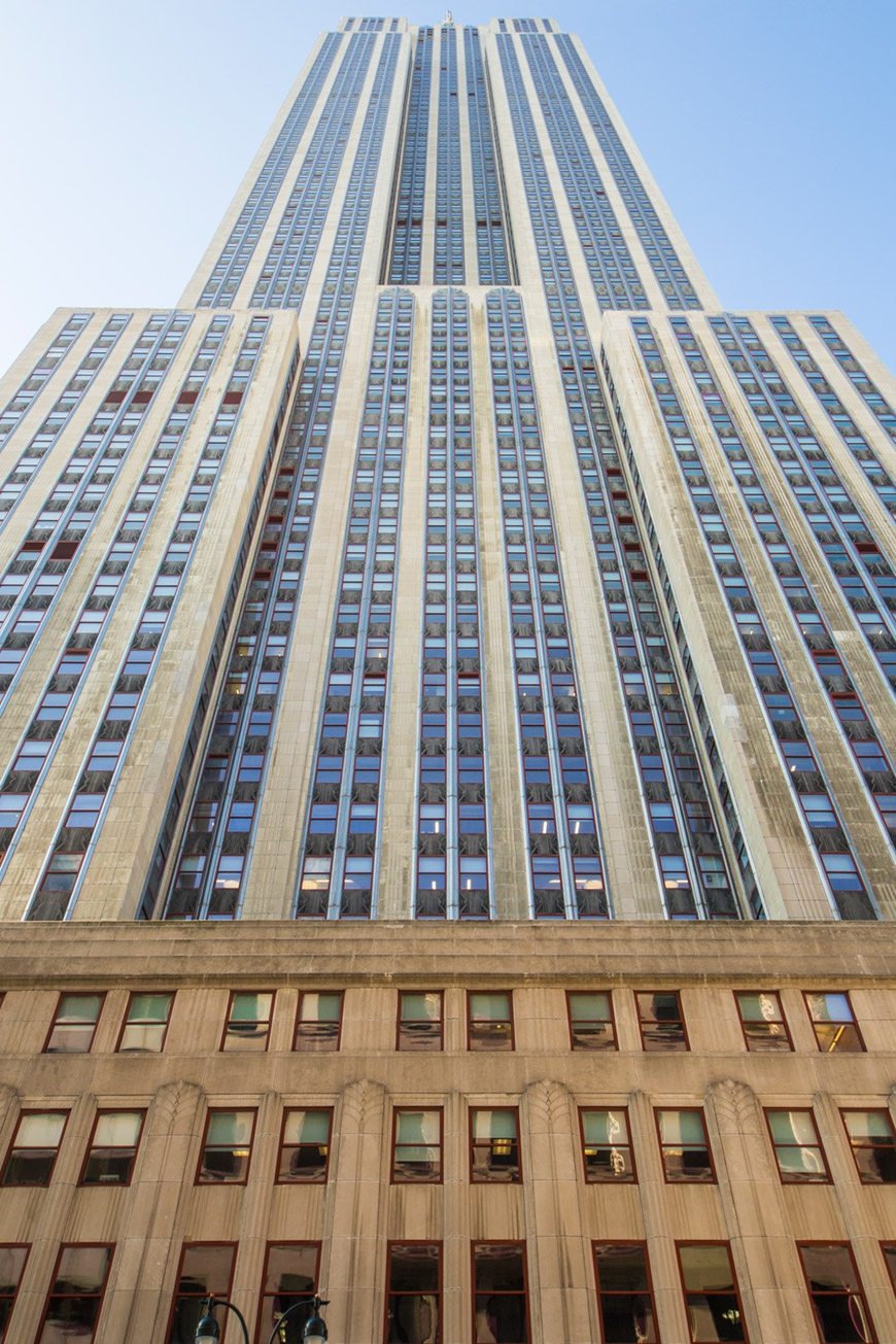 """Empire State Building"" em f/8 1/60 ISO100 @ 16mm."