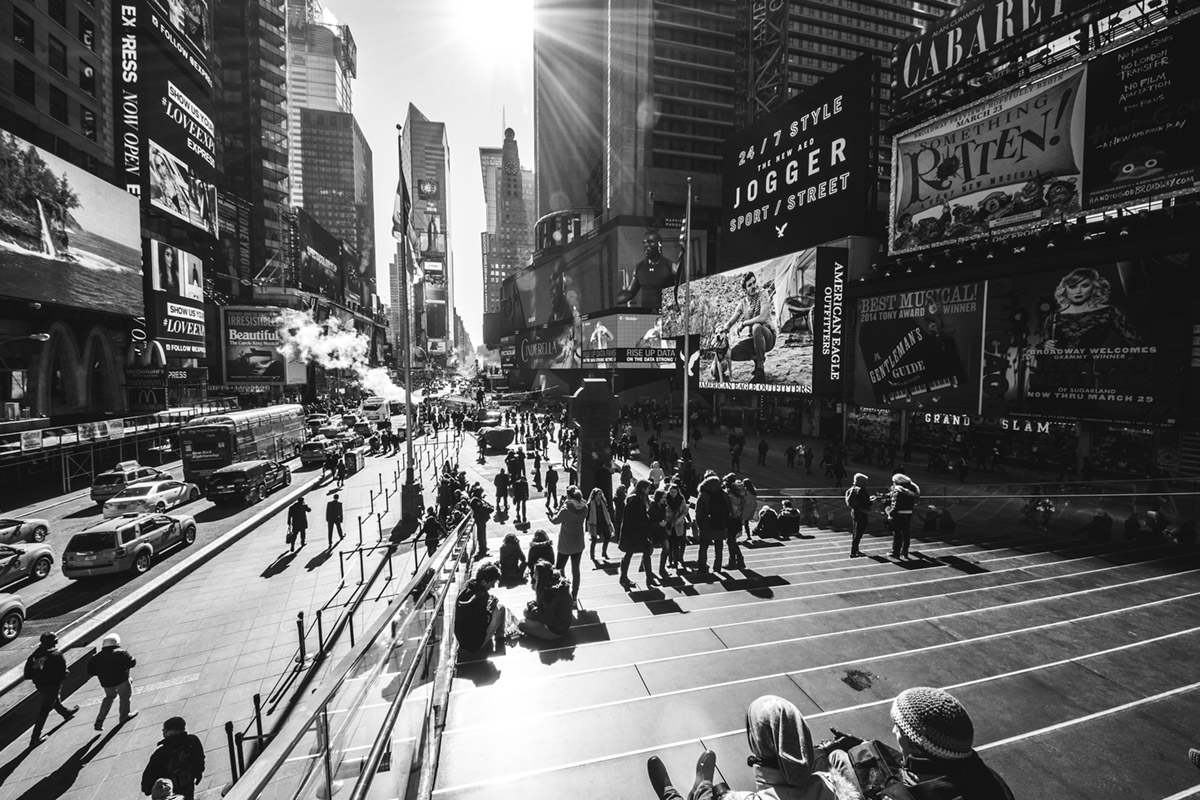 """""""Times Square"""" em f/8 1/180 ISO100 @ 8mm."""