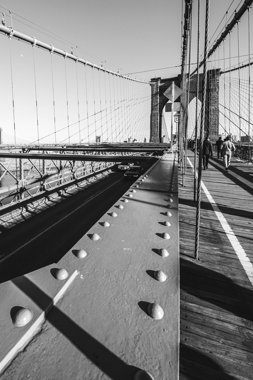 """Brooklyn Bridge"" em f/8 1/180 ISO100 @ 8mm."