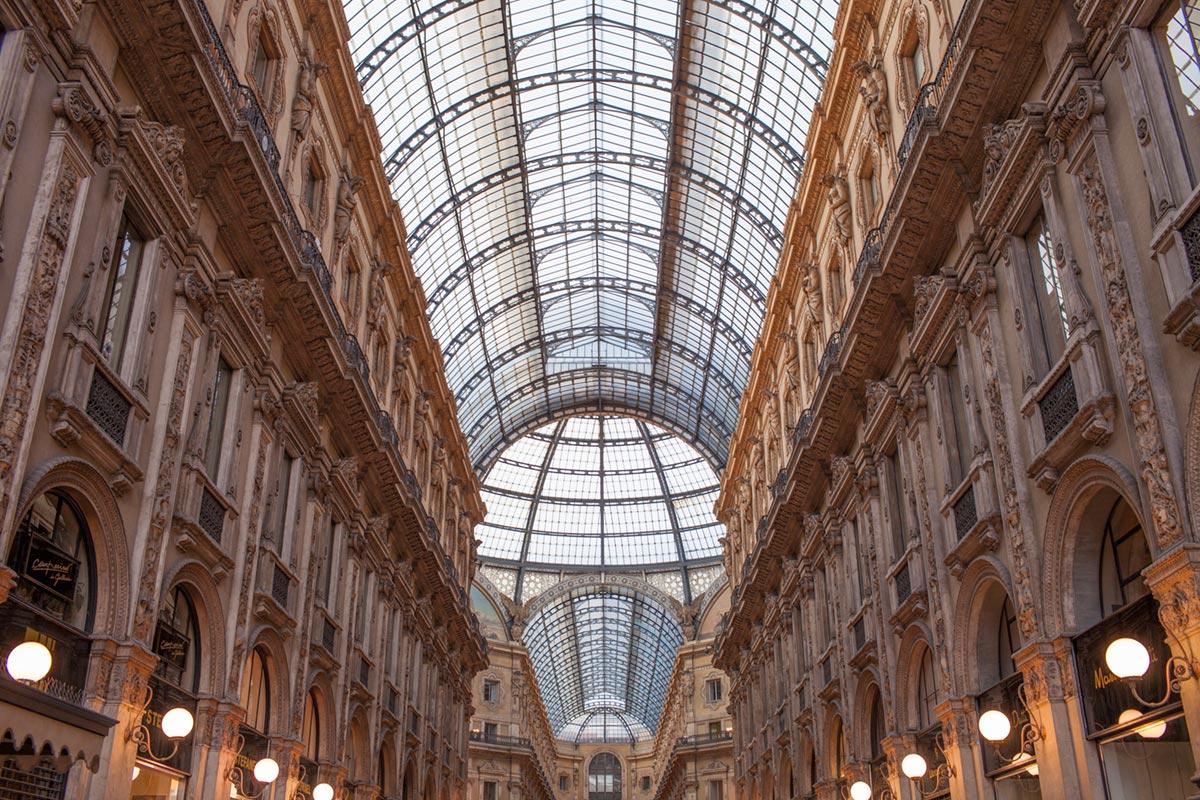 """""""Galleria Vittorio Emanuele II"""" em f/5.6 1/60 ISO200."""