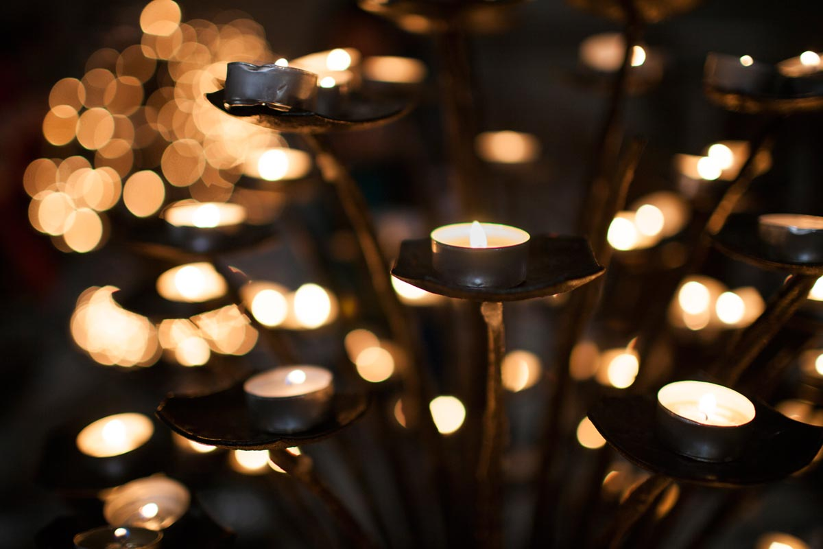 """Velas""; at f/1.4 1/250 ISO400."