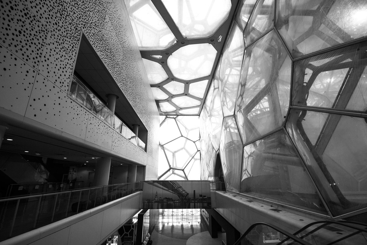 """""""Water Cube"""" em f/4 1/50 ISO100 @ 10mm."""
