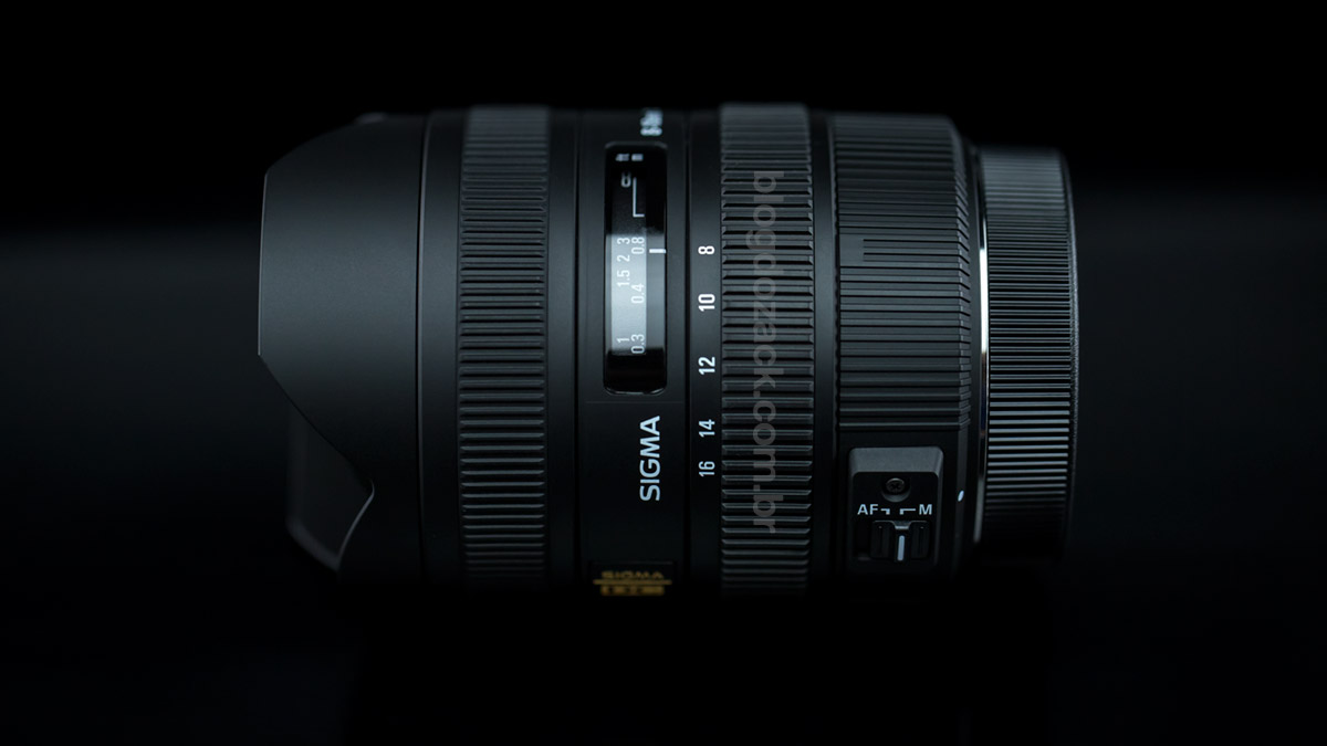 A Sigma 8-16mm f/4.5-5.6 DC HSM.