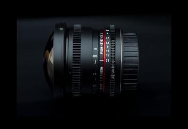 Samyang 8mm T3.8 CS II